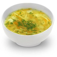 Суп куриный с имбирем Фото