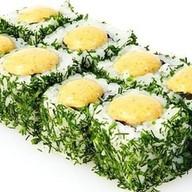 Спайси ролл с лососем Фото