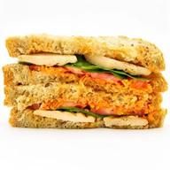 Сэндвич Цыпленок Терияки Фото