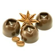Конфеты шоколадные с фундуком и ананасом Фото