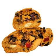 Печенье Бискотти с миндалем и шоколадом Фото