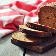 Хлеб черный ломтик Фото