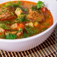 Суп-гуляш из телятины Фото