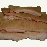 Сало тонкое свиное Фото