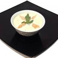Сырный суп с лососем Фото