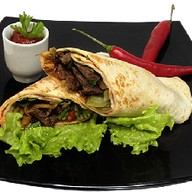 Бурритос с говядиной Фото