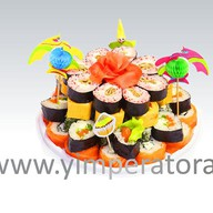 "Суши-торт ""Малибу"" Фото"