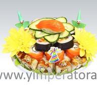 Суши-торт Морская звезда Фото
