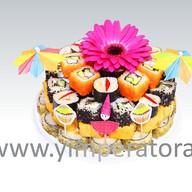 Суши-торт Радуга вкуса Фото