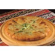 Хачапури с сыром и шпинатом Фото