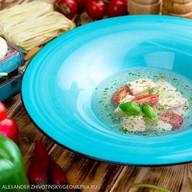 Рыбный суп с лососем и судаком Фото