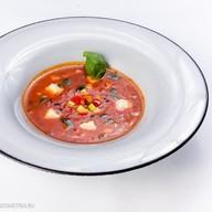 Суп-минестроне с моцареллой Фото