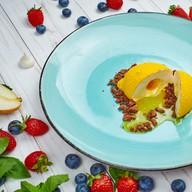 Пирожное лимон Фото