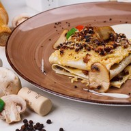 Лазанья с грибами Фото