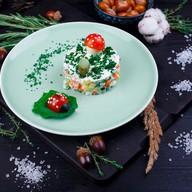 Оливье с индейкой салат Фото