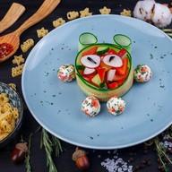 Смешарик салат Фото