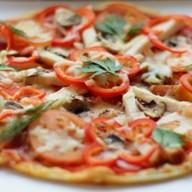 Пицца с курочкой Фото