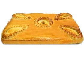 Пирог с капустой и яйцом - Фото