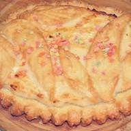 Пирог с сыром и цукатами (песочный) Фото