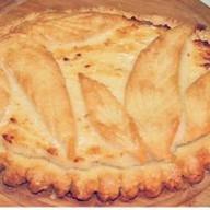 Пирог с творогом и грушей (песочный) Фото