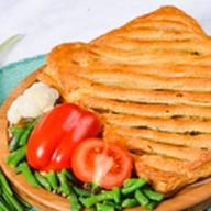 Пирог овощное ассорти (слоеный) Фото