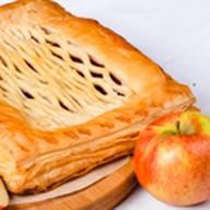 Пирог с яблоками (слоеный) Фото