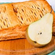 Пирог с грушей и миндалем (слоеный) Фото