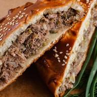 Пирог с мясом (говядина) Фото