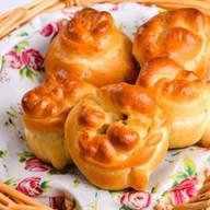 Пирожок с грибами Фото