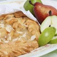 Пирог с грушей и миндалем (песочный) Фото