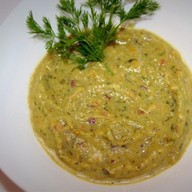 Крем-суп из брокколи с сельдереем Фото