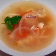 Мексиканский рыбный суп Фото