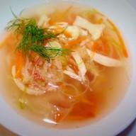 Суп с капустой и рисом Фото