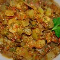 Салат из баклажанов Заалюк Фото