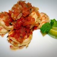 Креветки в томатном соусе Фото