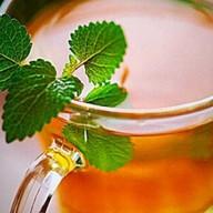 Чай имбирный с мятой Фото