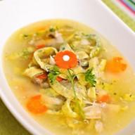 Куриный итальянский суп Фото