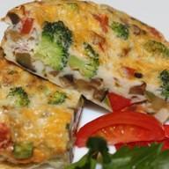 Итальянская фриттата с овощами Фото