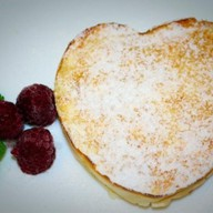 Десерт из рикотты с персиками Фото