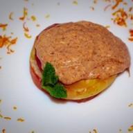 Сливочный сыр с тыквой и яблоками Фото