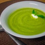 Крем-суп из листьев салата Фото