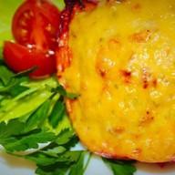 Перцы, запеченные под сырной корочкой Фото