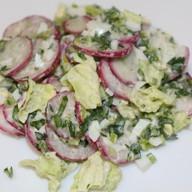 Легкий салат с кефиром Фото