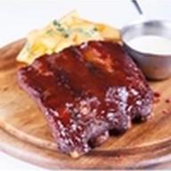 Свиные ребрышки BBQ Фото