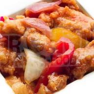 Курица в кисло-сладком соусе Фото