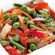 Овощи wok Фото