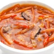 Кисло-сладкий суп Фото
