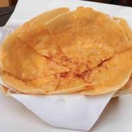 Чапати с двойным сыром Фото