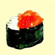 Гункан с сыром и лососем Фото