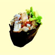 Гункан с угрем и авокадо Фото